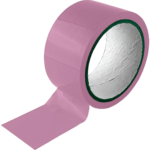 Bound To Please Bondage Tape Restraints Pink 20m
