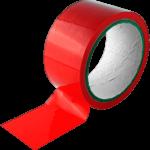 Bound To Please Bondage Tape Restraints Red 20m