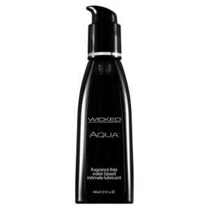 Wicked Sensual Care Aqua Waterbased Black 60ml main