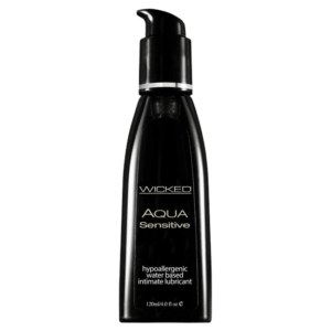 Wicked Sensual Care Aqua Sensitive Black 120ml main