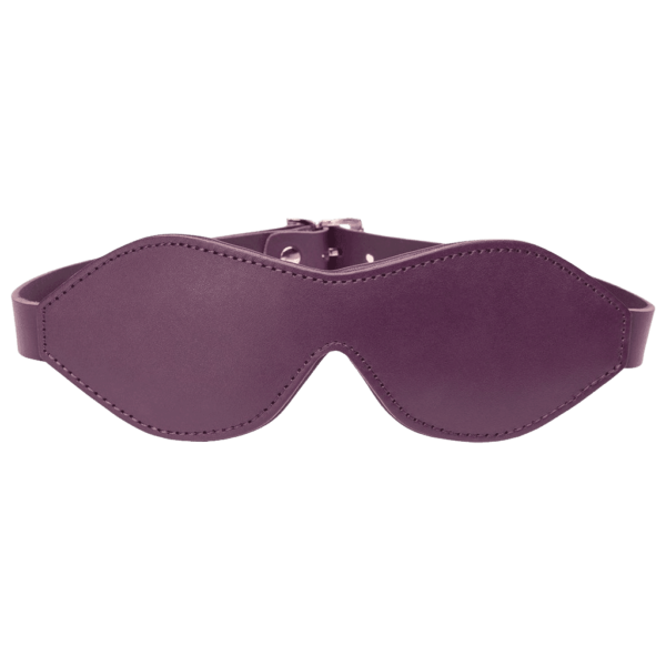 fsf leather blindfold main