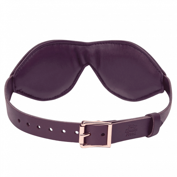 fsf leather blindfold rearview