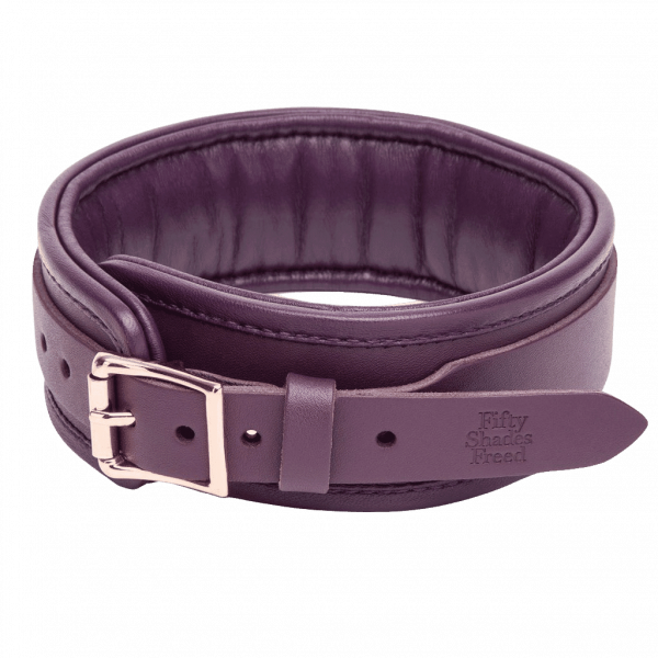fsf leather collar lead tightview