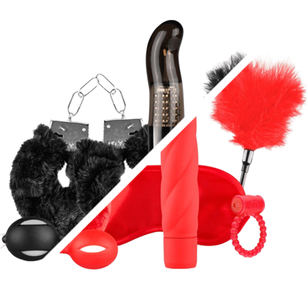 I Love... - 6 Piece Sex toy kit for couples image