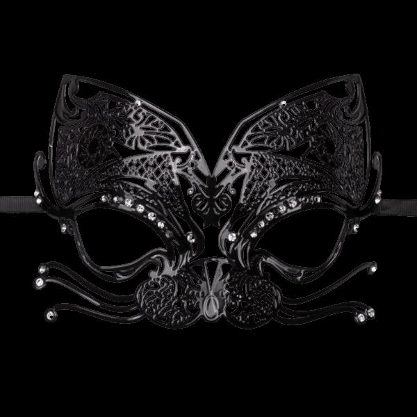 mask cat black