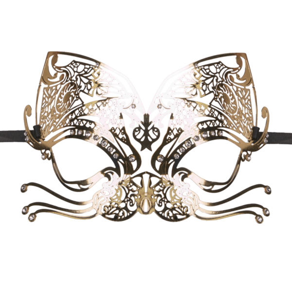 mask cat gold