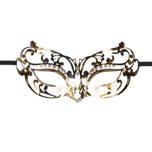 mask open gold