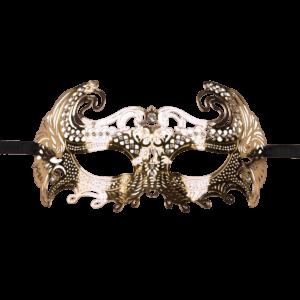 mask venetian gold