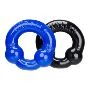 oxballs ultraballs cockring blue set main