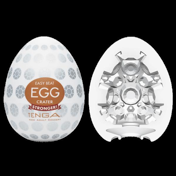 tenga egg easybeat hardboiled crater combo