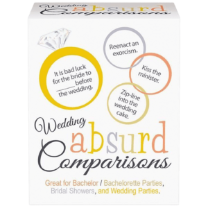 wedding absurd comparisons